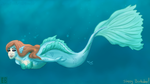 BDay- In the Depths Below by Guiled-Dragon