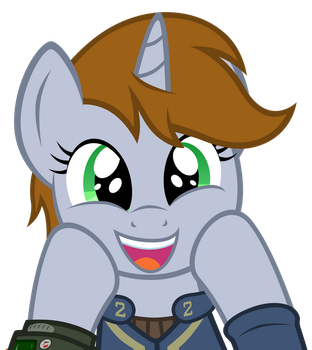 Littlepip's Excited by MrLolcats17