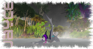 Shark in the Rain - Second Life by Jace-Lethecus