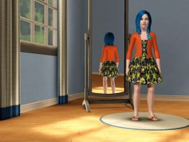 Sims 3 Equestria Girls - Young Indigo Zap pic 2 by Magic-Kristina-KW