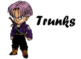 Chibi Trunks by KuroiSenshi
