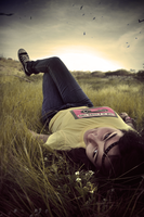 Just lay here. by Kenrocks