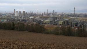 Grangemouth Refinery Field by WestLothian