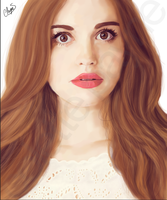 Holland Roden painting by usmelllikedogbuns