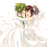 Happy Wedding by Antikuu