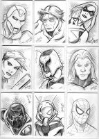 Sketchcard Dump 3 by NickMockoviak