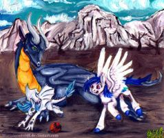 Play time .:commish:. by MortaleRedWolf