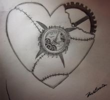 Mechanical Heart by ZuriErroia