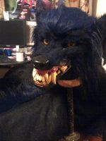 Making a Werewolf mask (60%) by TwistedTerrace