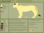 Shard Character Sheet (COMMISSION) by Koai