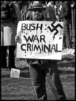 Bush War Criminal by digitalgrace
