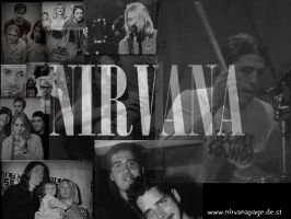 Nirvana Wallpaper by Ozzyhelter