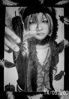 aoi and feathers by can-u-hear-me