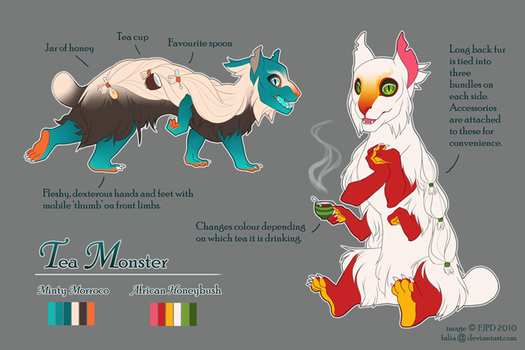 Contest entry: Doro TeaMonster by falia
