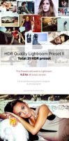 HDR Quality Lightroom Preset II by hazratali2020