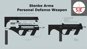 Stenke Arms Personal Defense Weapon by DerShishaGott
