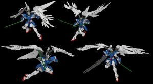 Lego Wing Gundam Zero EW (Custom): Beam Sabre! by mithrylaltaire