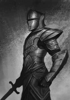 Knight by victter-le-fou
