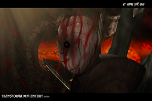Naruto Shippuden 345 - Obito in the Hell by TRANSFORUA