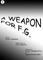 A weapon for FG cover by jamescorck