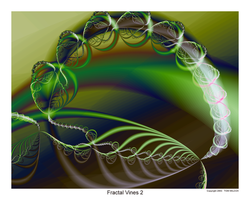 Fractal Vines 2 by TomWilcox