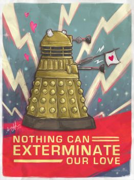 A Very Dalek Valentines by amy-liu