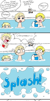 .:Hetalia:. Pool Party by YoorNaymHeer