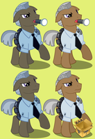 Vigilance (Security Guard) Vectors by Pirill-Poveniy