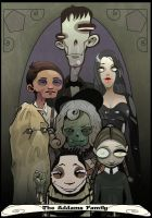Addams Family by Paperbag-Ninja