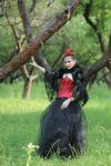 in red and black 07 by Anna-LovelyMonster