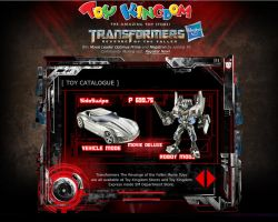 Transformers MicroSite Inner Productpage by EyeZ-Wide-Shut