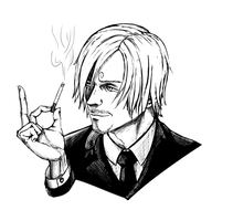 One Piece: Sanji by Chuck-Nothing