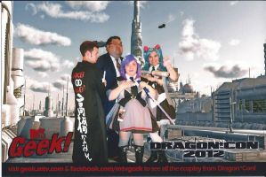 our AKB0048 Cosplay group at Dragoncon by aichan25