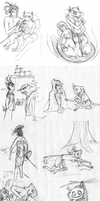 AALC RP Sketchdump by Luppa
