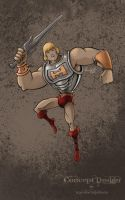 Battle Armor He-Man by Maxnethaal