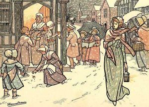 Public-domain-christmas-book-illustration-1 by D-A-Skelly