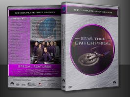 Star Trek: Enterprise S1 Custom DVD Cover In Case by SUPERMAN3D