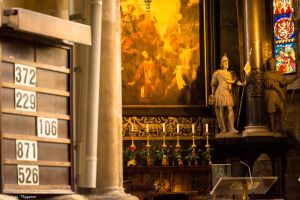 Wien - St. Stephen's Cathedral altar by Dragon-Claw666
