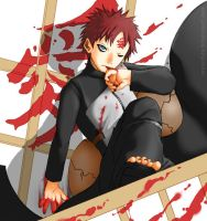 .::Gaara of the Sand::. by musechan