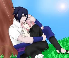Sasusaku- After war by tomikouchiha21