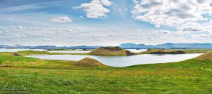Myvatn, Iceland by Nightline