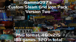 Steam Grid Icon Pack: Version Two by gamma097