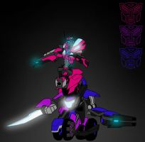 Combined Arcee Bikes by Fishbug