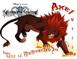 Kingdom Hearts II-VIII Axel by SEGAmastergirl
