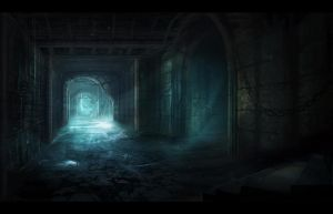 Dungeon Passage by nilTrace