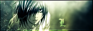 Death Note - L by CR0SS1
