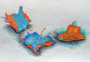 Fallen Leaves by razzlepazzledoodot