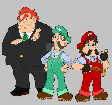 Two Plumbers and a Landlord by BenjaminTDickens