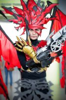 Chaos - Vincent Valentine by richgrohl
