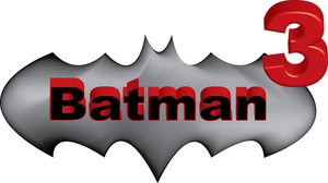 logo film batman 3 by renanjokel
